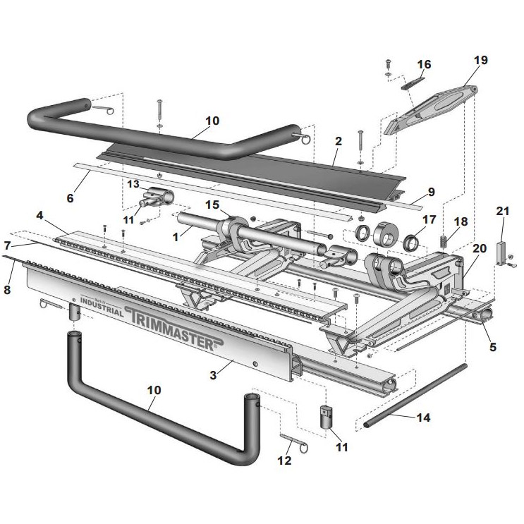 Van Mark Mark Iv Industrial Trimmaster Parts From Buymbs Com