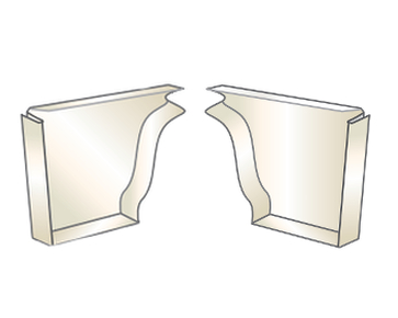 Quality Aluminum Gutter End Caps From Buymbs Com