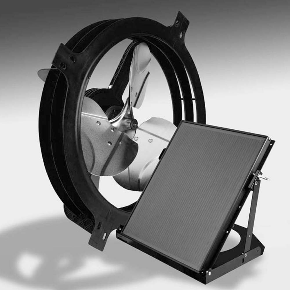Air Vent Solar Powered Gable Mounted Power Fan