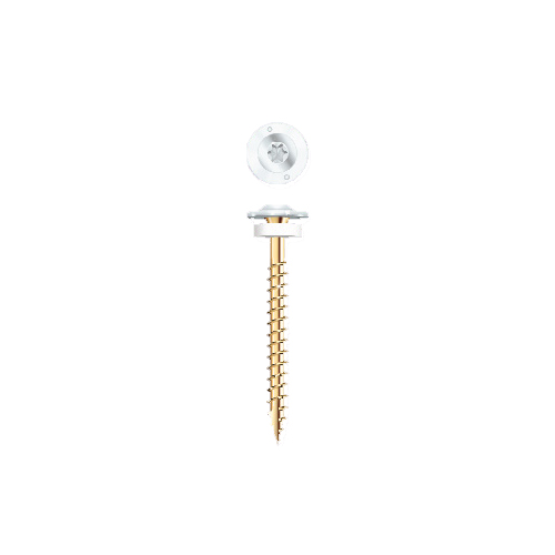 Grk Fasteners Metal Siding Screw White From Buymbs Com