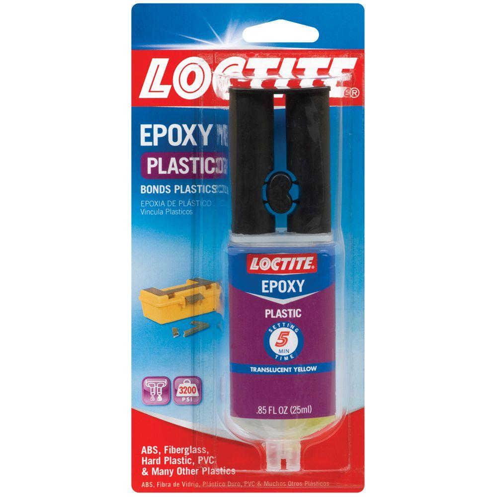 Loctite Plastic Epoxy Syringe 25 Ml 8 Syringes Per