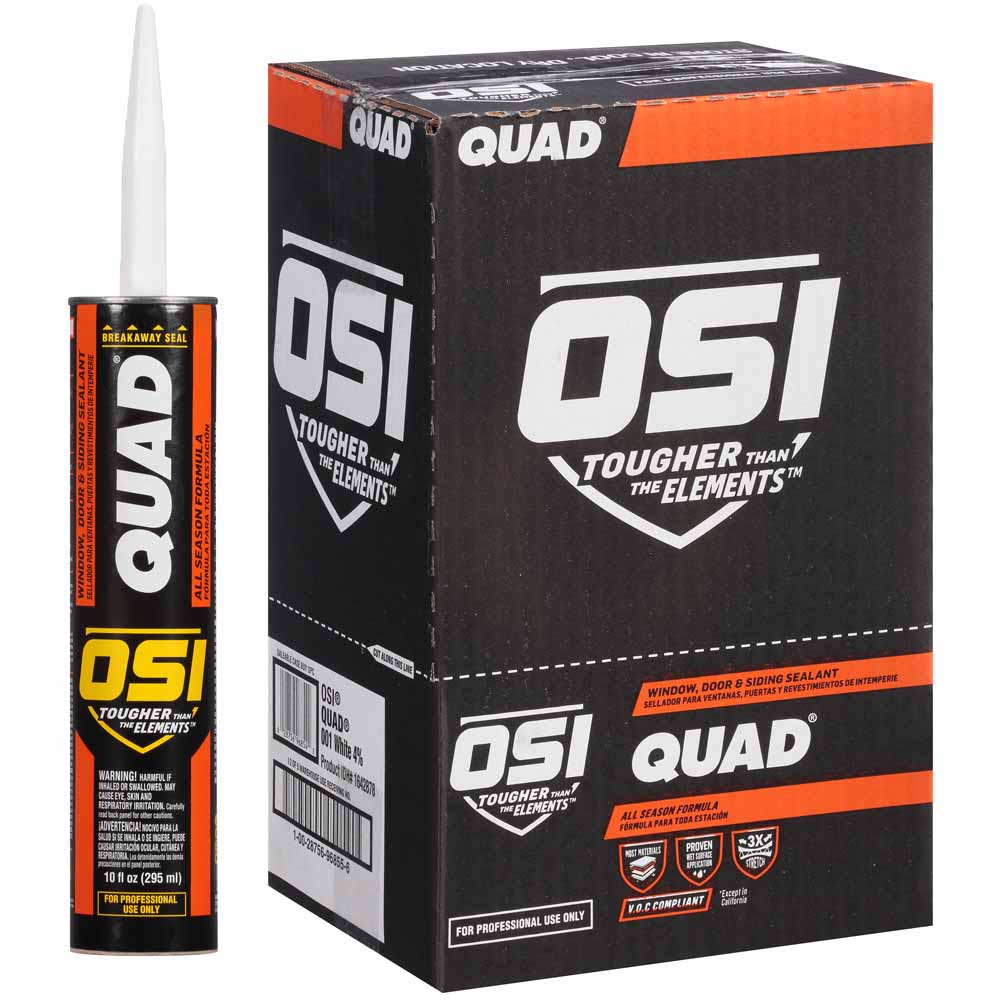Osi Quad Voc Window Door Amp Siding Sealant Carton Of 12