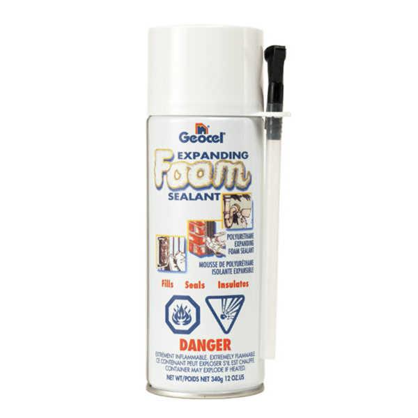 Geocel Expanding Foam Sealant Carton Of 12 Ebay