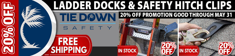 Tie Down 20 Percent Off