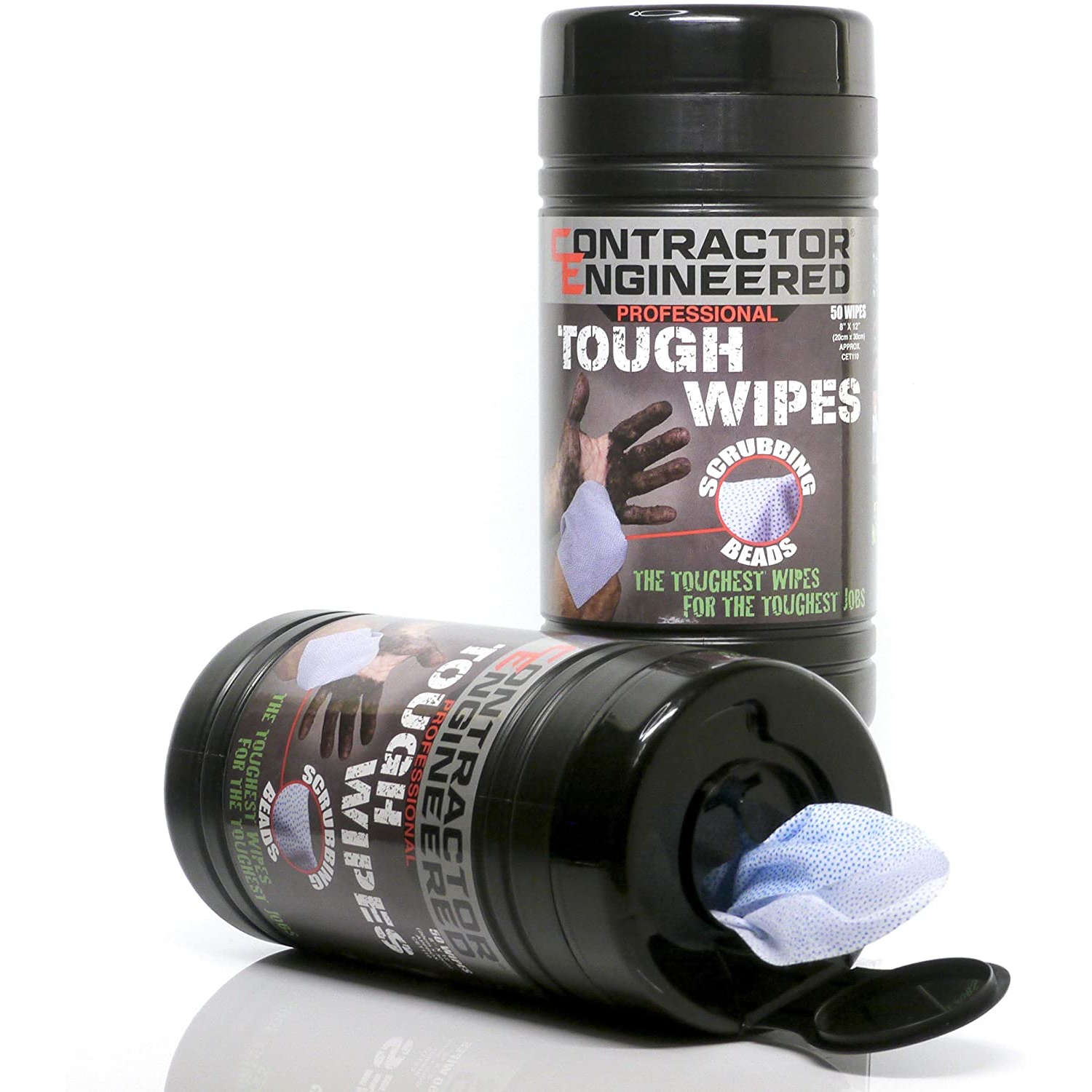 CE Tools Tough Wipes Open