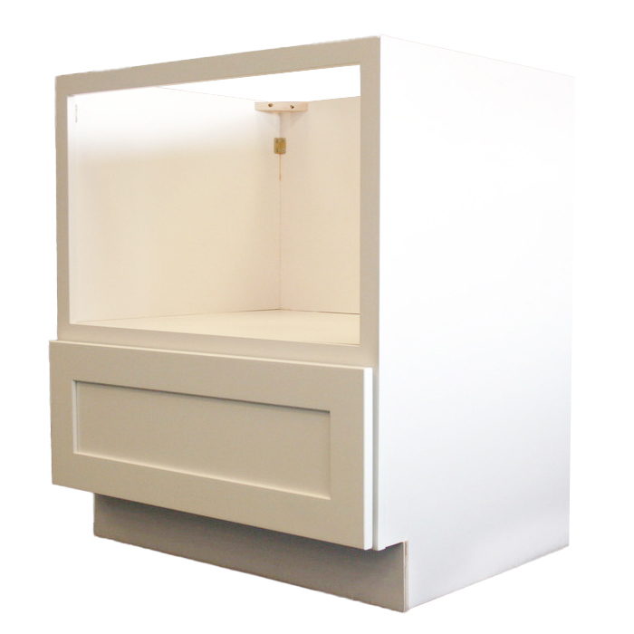 Microwave Cabinet Side