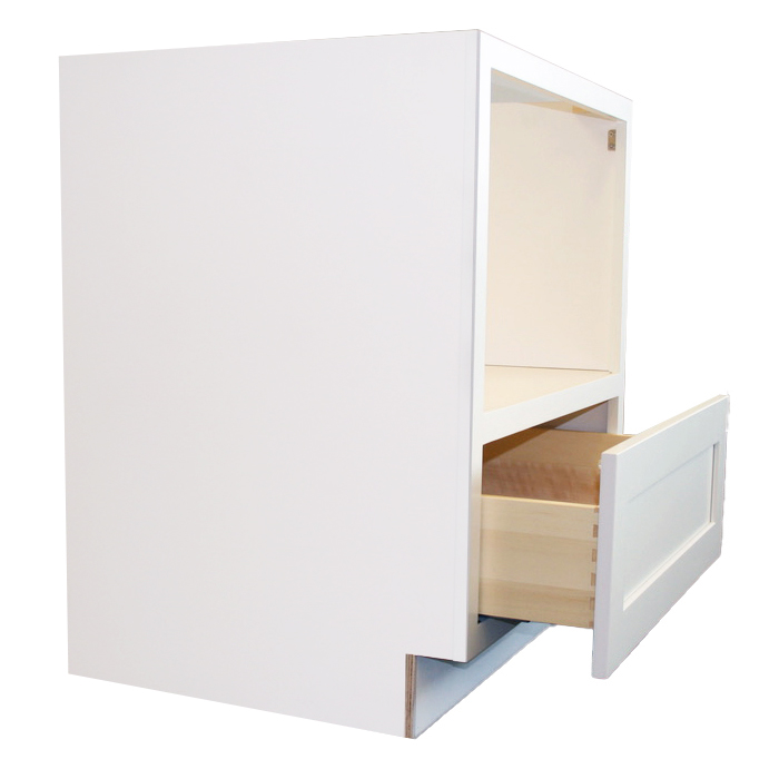 Microwave Cabinet Side Drawer Open