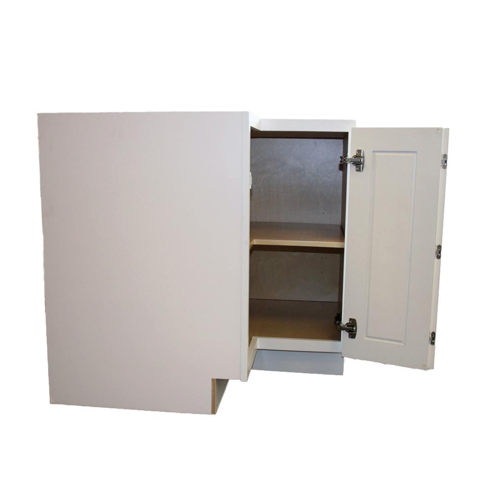 Side cabinet door view