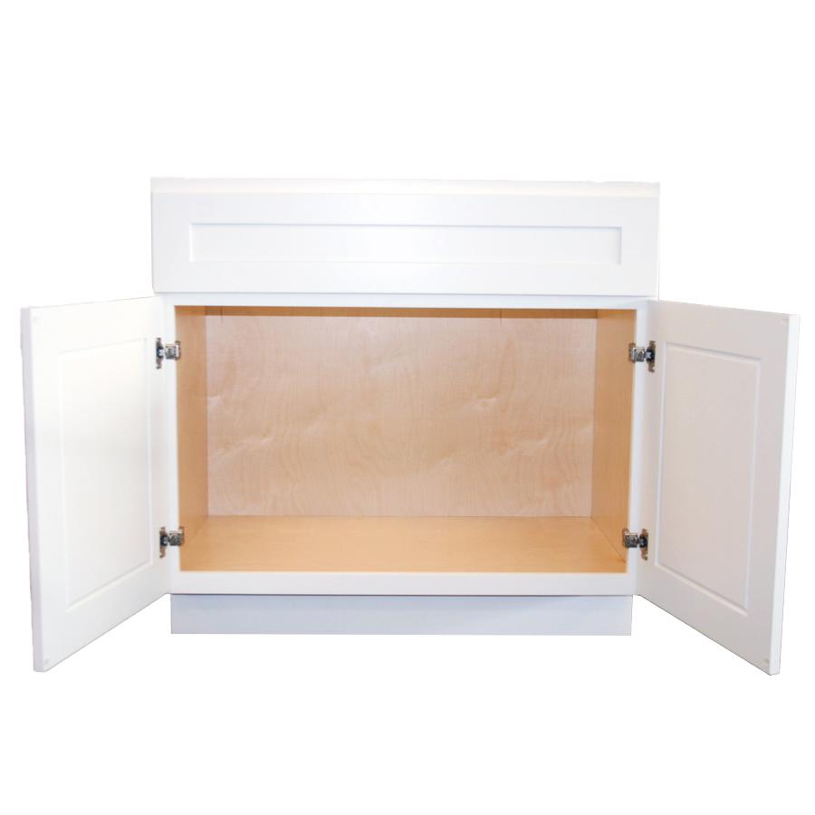 Sink Base Cabinet Front Open