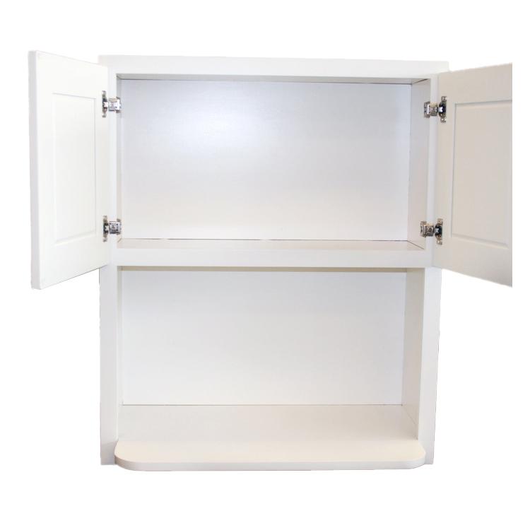 Microwave Cabinet Both Side Door Open