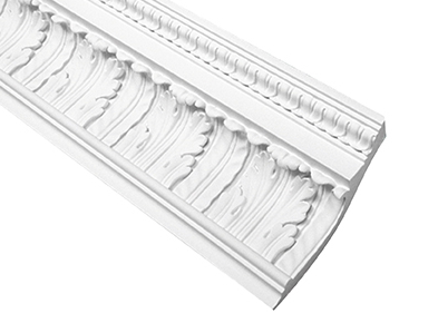 Fypon polyurethane decorative crown moulding from for Fypon millwork