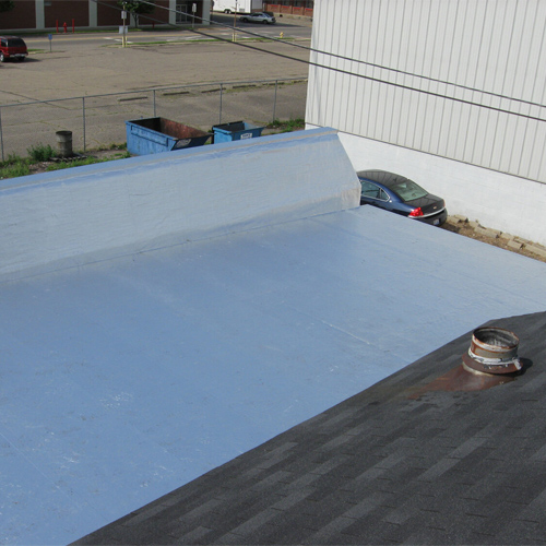 36in. Peel and Seal Commercial Roofing Application